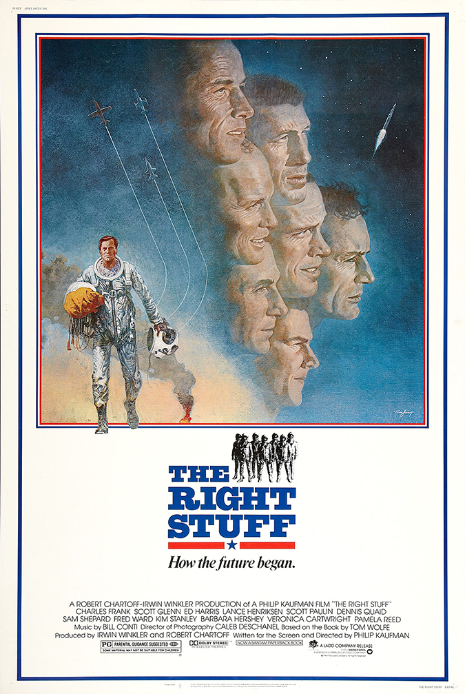 right stuff movie poster