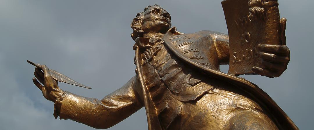 thomas paine statue shutterstock