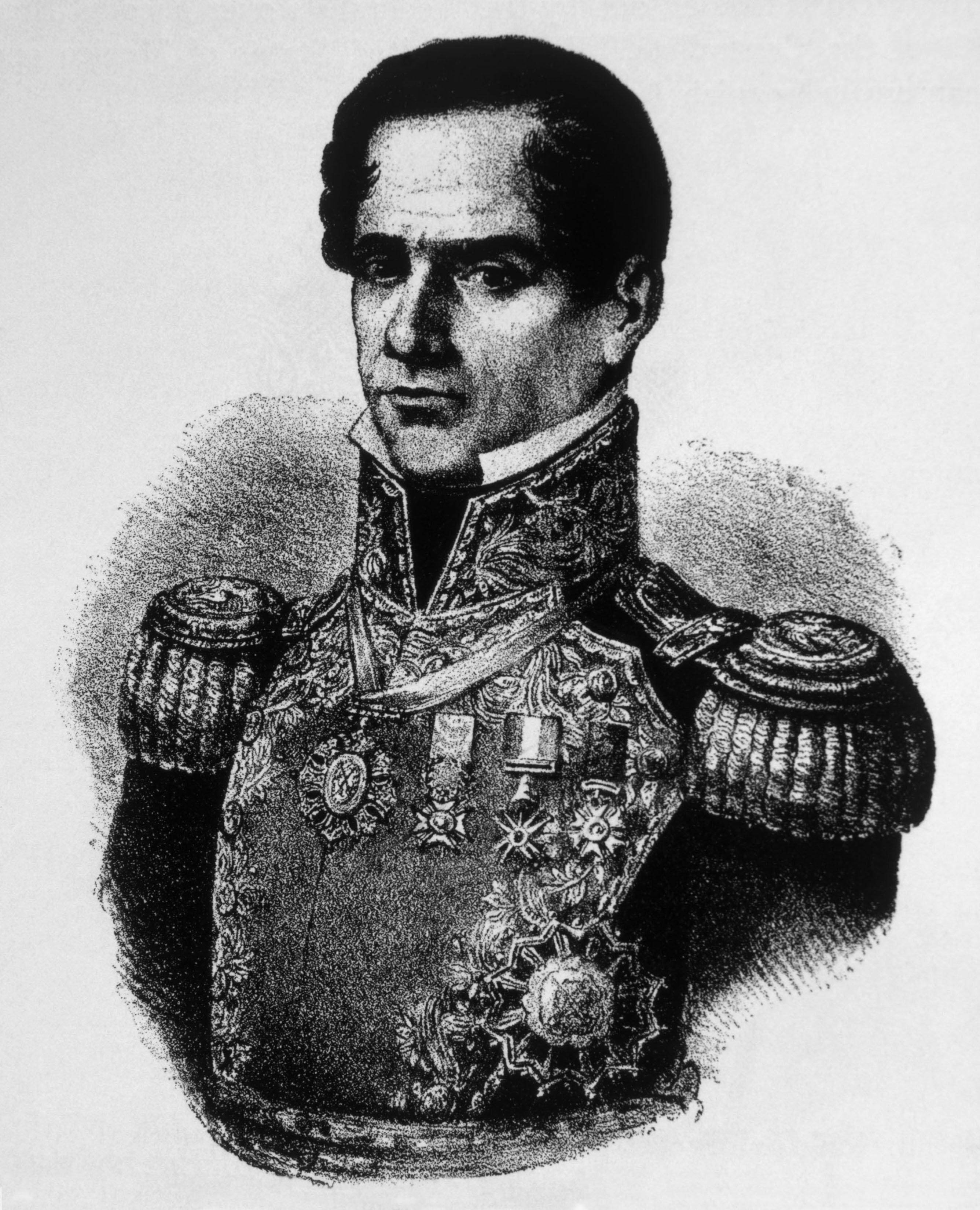 Antonio Lopez de Santa Anna shutterstock