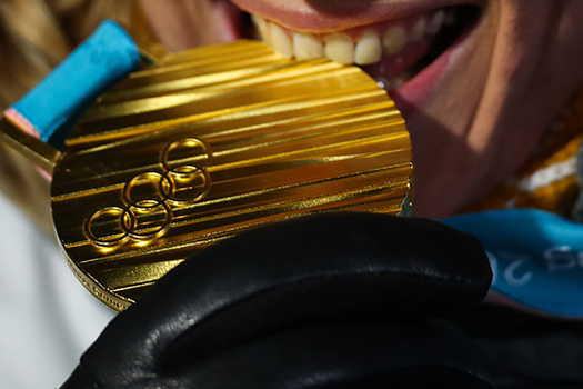 gold medal pyeongchang shutterstock