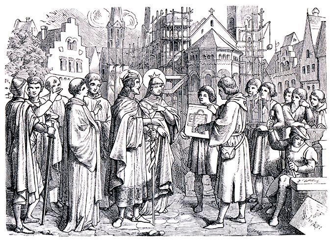 henry II roman german emperor shutterstock