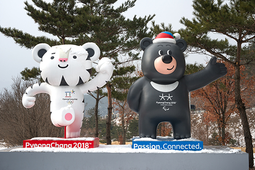 olympic mascots shutterstock