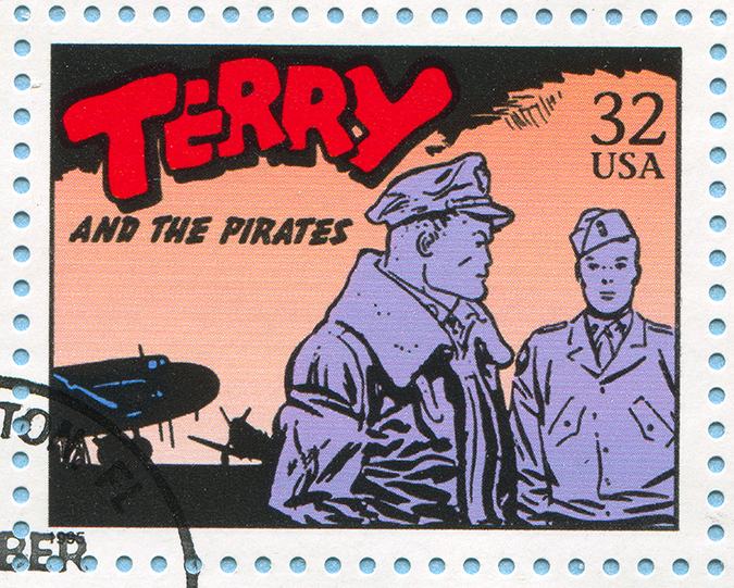 terry and the pirates stamp embed