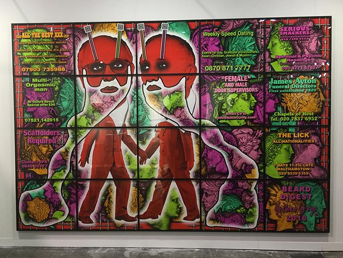 gilbert & george art basel hong kong 2018