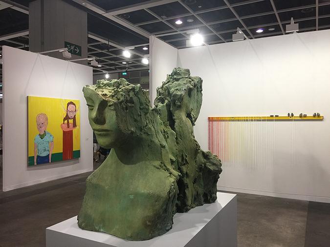 mark manders nicola tyson sarah sze art basel hk 2018