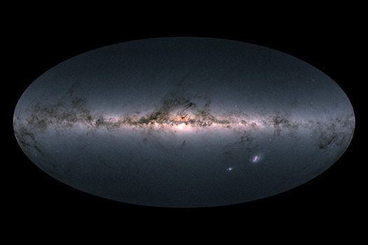 ESA Gaia DPAC New Milky Way Map