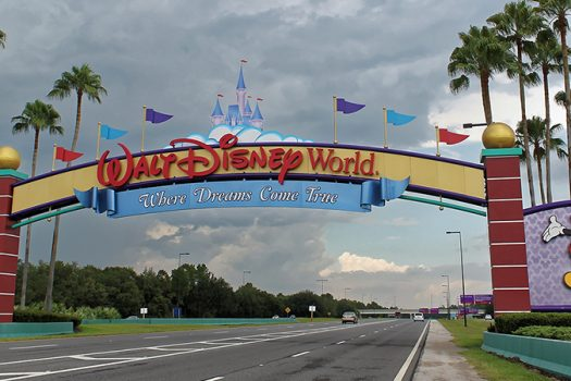 disney world entrance shutterstock