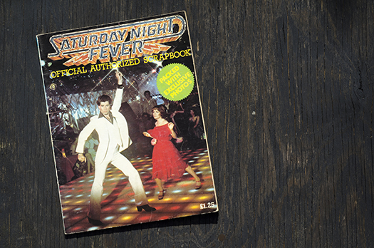 saturday night fever scrapbook shutterstock