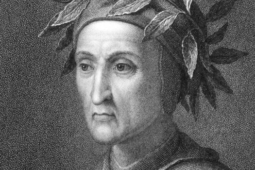 Dante Alighieri engraving shutterstock