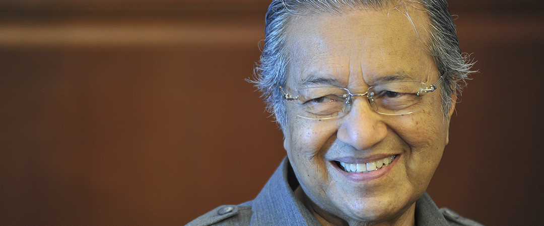 Dr. Mahathir Mohamad feature shutterstock