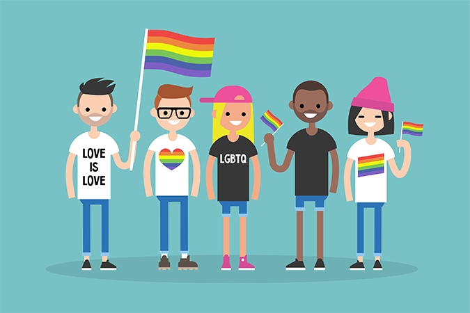love parade art shutterstock