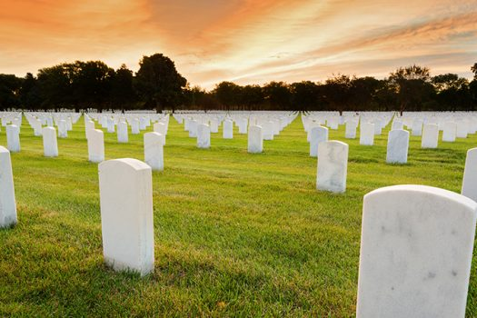 national cemetery shutterstock