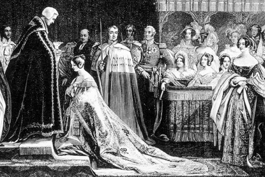 queen victoria coronation