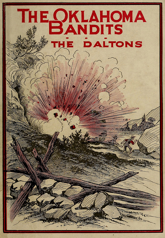 the oklahoma bandits the daltons book cover shutterstock