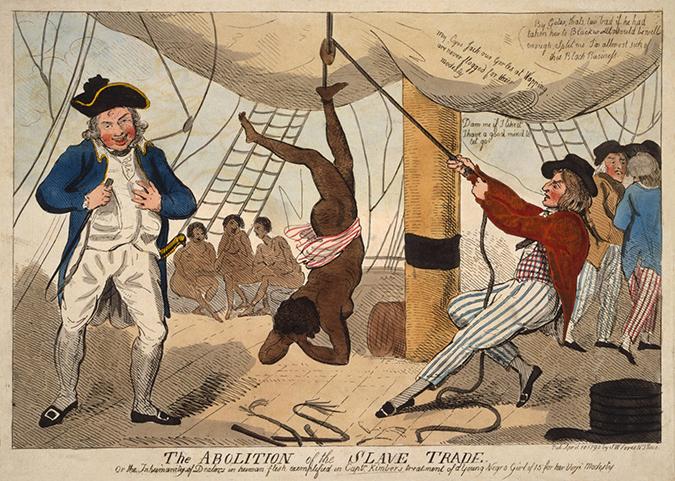 uk slavery cartoon shutterstock