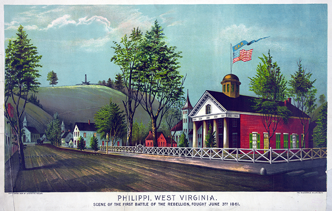 Battle of Philippi West Virginia shutterstock