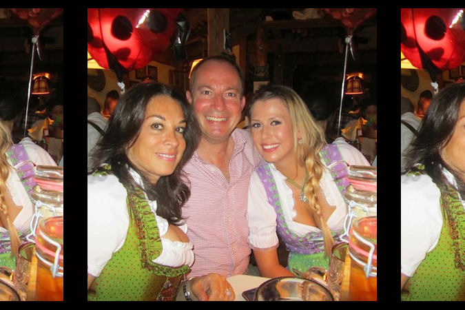 Betsy Cox with clients at Octoberfest Munich 1