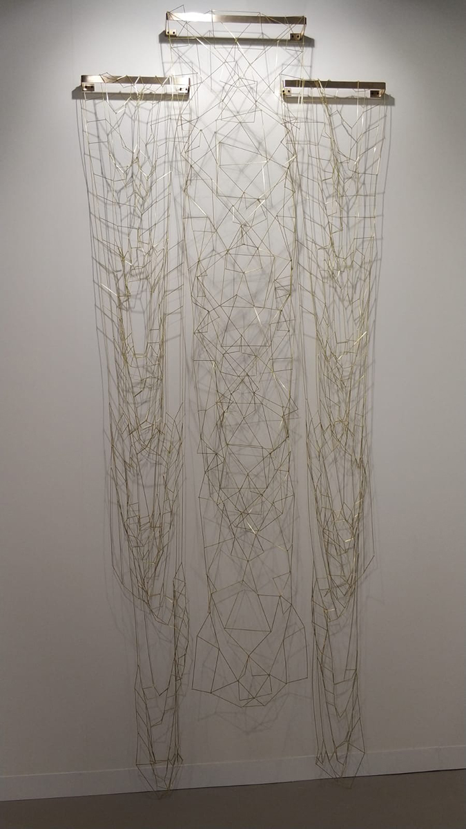 Leonor Antunes Discrepencies with a Caucasian Textile