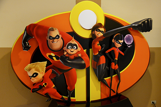 incredibles 2 display shutterstock