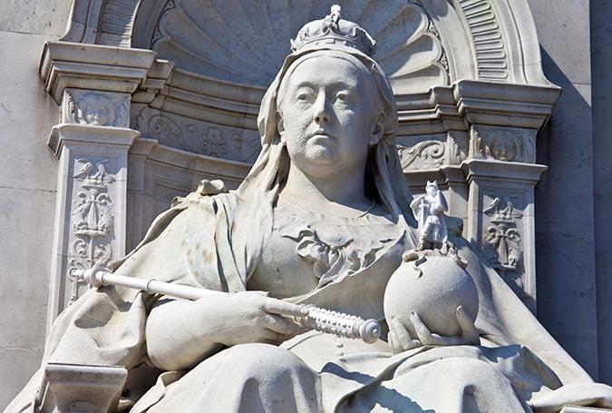 queen victoria memorial london shutterstock