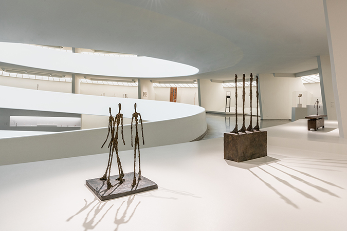 EMBED - Installation view- Giacometti, Solomon R. Guggenheim Museum, New York, June 8–September 12, 2018. Photo- David Heald © Solomon R. Guggenheim Foundation, 2018