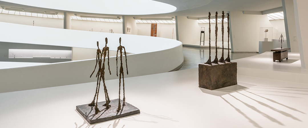 FEATURE - Installation view- Giacometti, Solomon R. Guggenheim Museum, New York, June 8–September 12, 2018. Photo- David Heald © Solomon R. Guggenheim Foundation, 2018