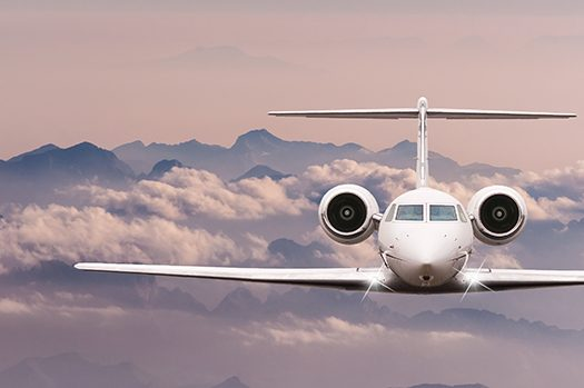 private jet shutterstock