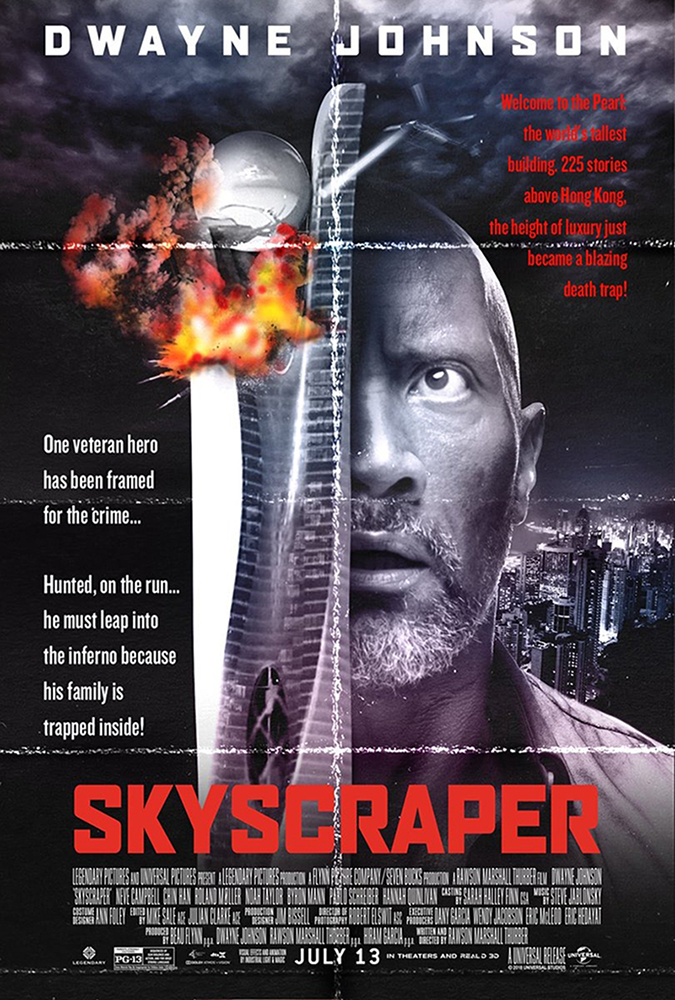 skyscraper movie poster embed
