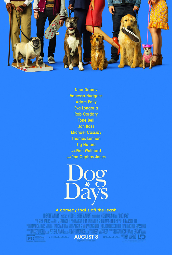 dog days movie poster