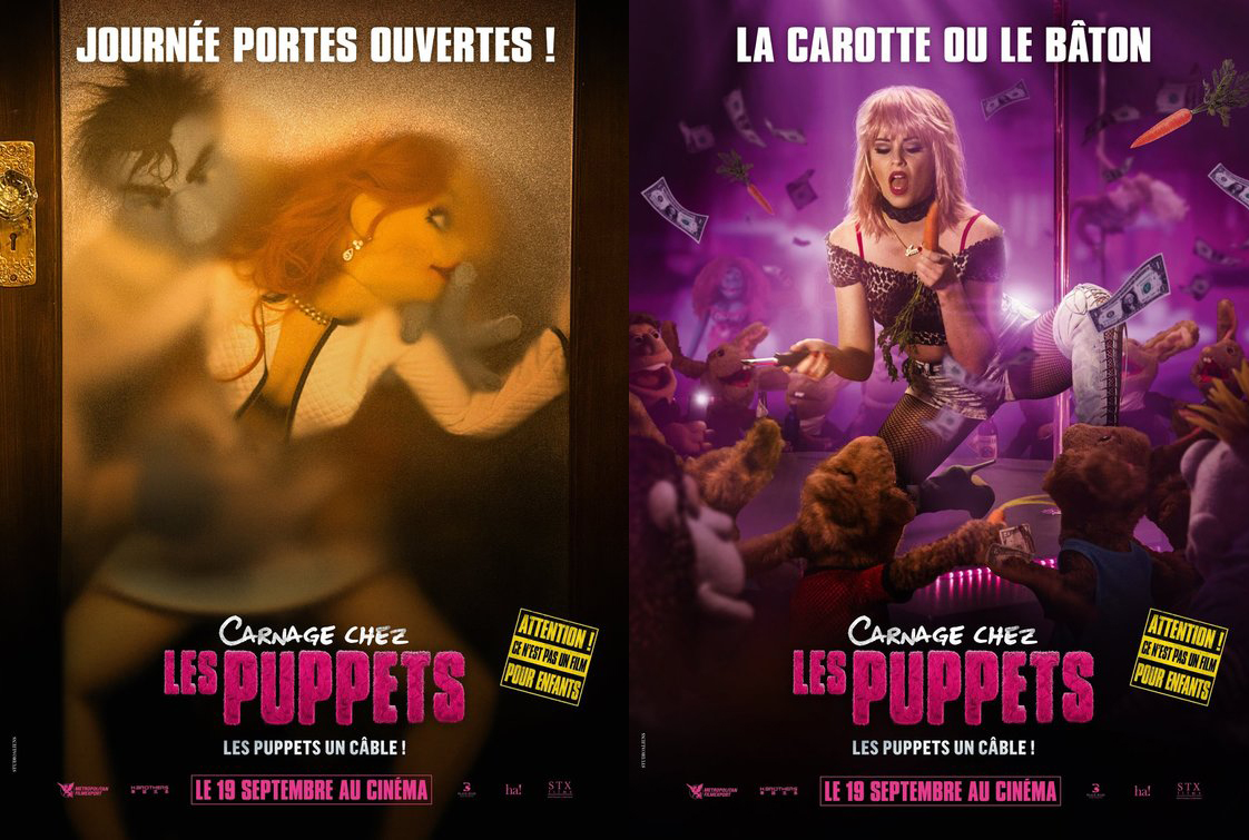 french posters happytime murders embed