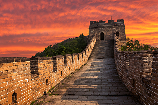 great wall mutianyu shutterstock