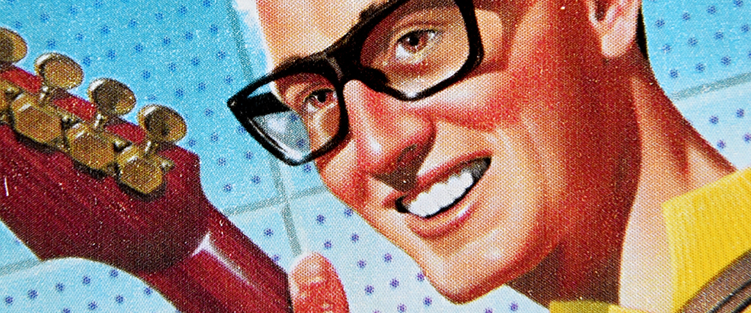 buddy holly stamp shutterstock