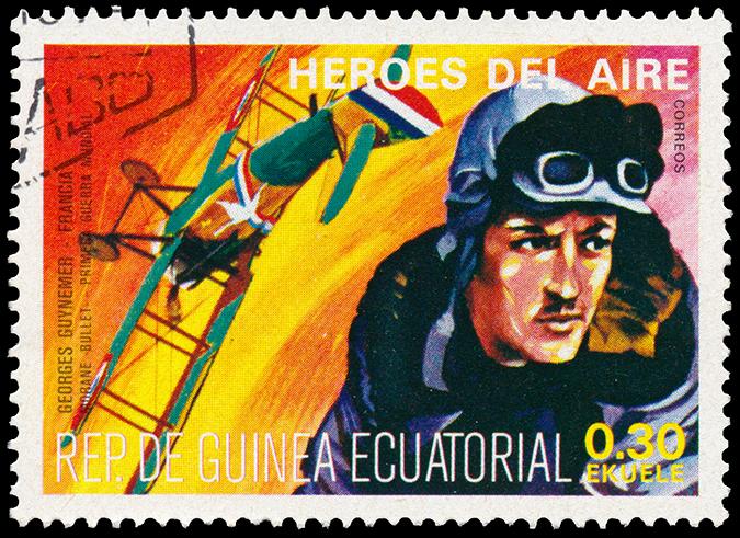 georges guynemer stamp shutterstock