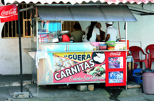 mexican food cart shutterstock