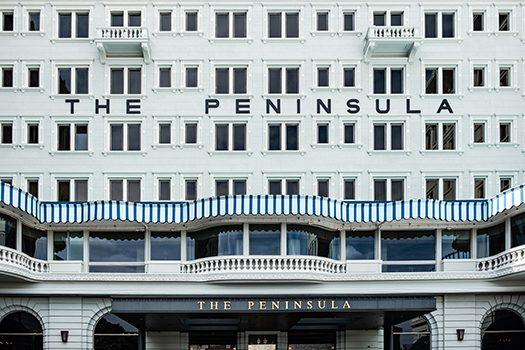 peninsula hotel hong kong shutterstock