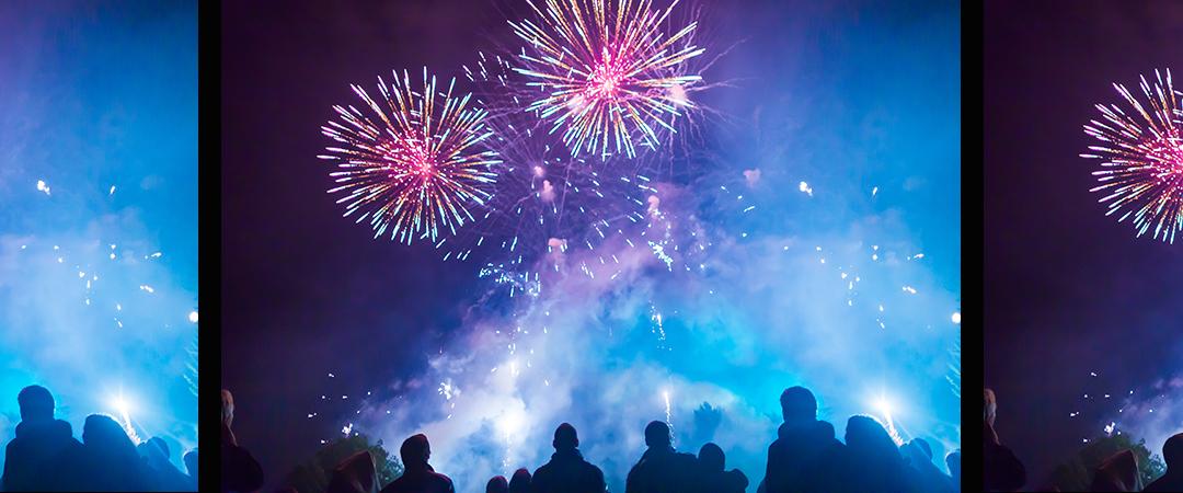 fireworks Aleksei Verhovski shutterstock