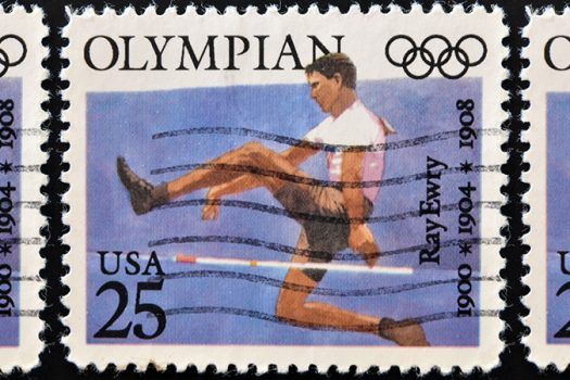 ray ewry stamp