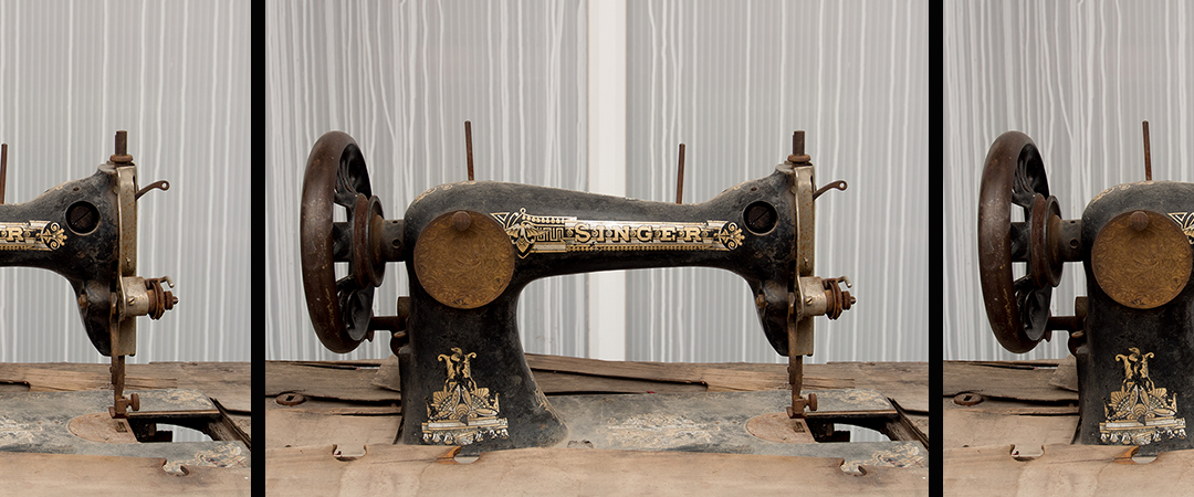 singer sewing machine - De Jongh Photography - Shutterstock