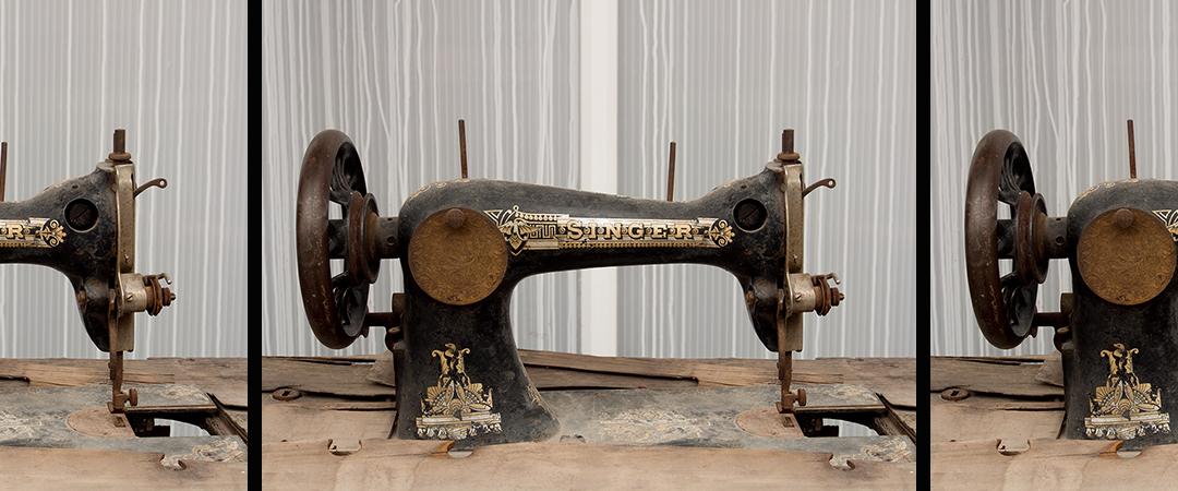 singer sewing machine - De Jongh Photography - Shutterstock