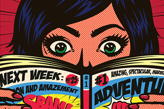 comic book reading - durantelallera - shutterstock