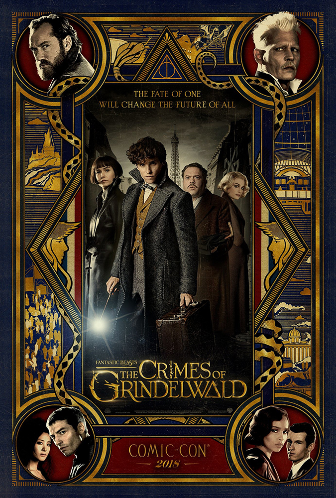 crimes of grindelwald poster