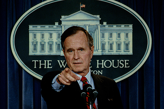 george h w bush - mark reinstein - shutterstock
