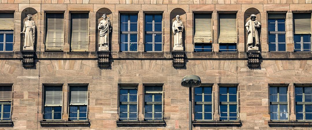 nuremberg courthouse - MoDoGN - shutterstock
