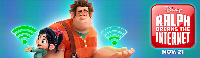 ralph breaks the internet poster 1