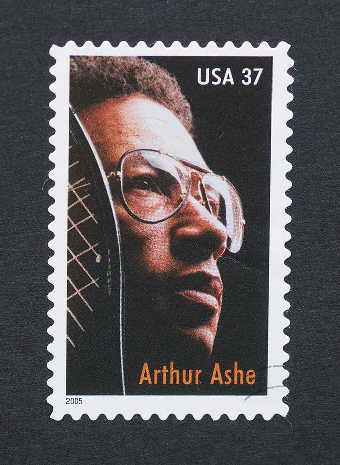 arthur ashe postage stamp - catwalker - shutterstock - embed