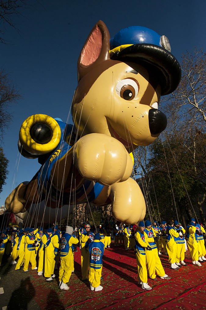 20181122©DayMacyPrde1229.jpg The 92st Macy's Thanksgiving Day Parade kicked off under sunny skies and cool temperatures as hundreds of thousands line the parade route to celebrate the clowns, floats, and balloons fly by, starting the holiday season in New York City.