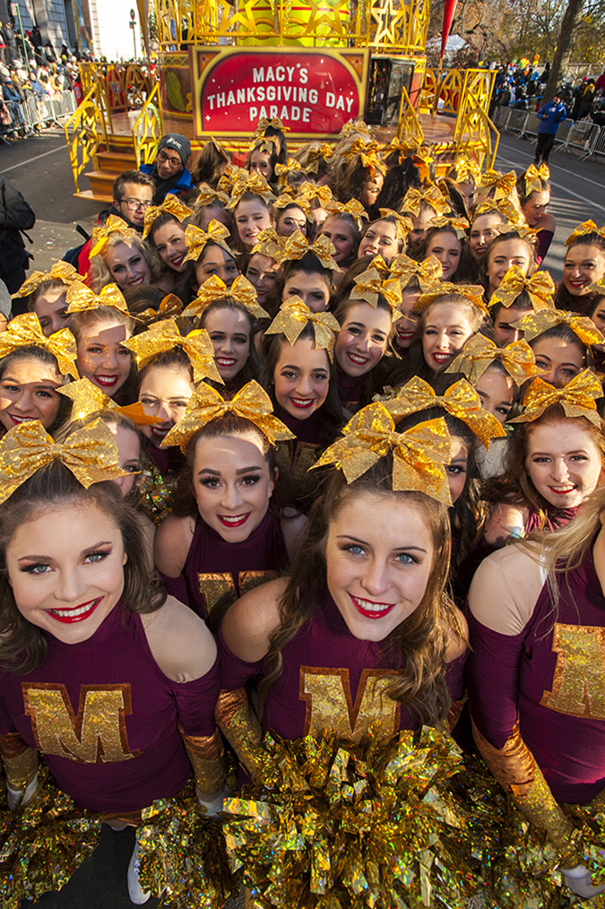 20181122©DayMacyPrde1645.jpg The 92st Macy's Thanksgiving Day Parade kicked off under sunny skies and cool temperatures as hundreds of thousands line the parade route to celebrate the clowns, floats, and balloons fly by, starting the holiday season in New York City.
