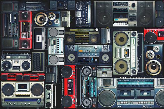portable stereos - nehophoto - shutterstock