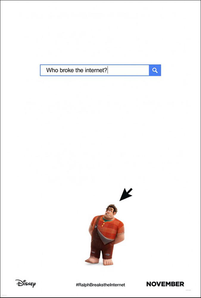 ralph breaks the internet poster embed new