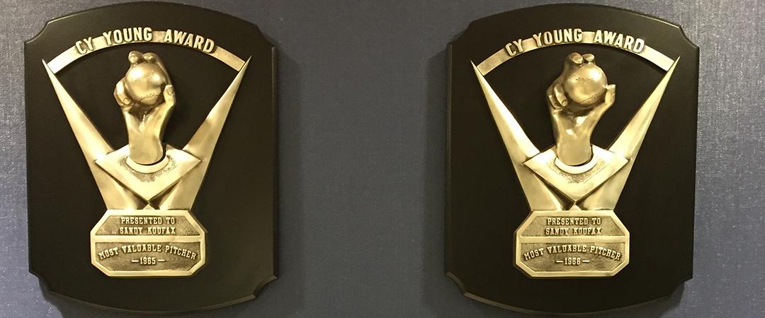 sandy koufax - Cy Young Award - Matthew Dicker - shutterstock